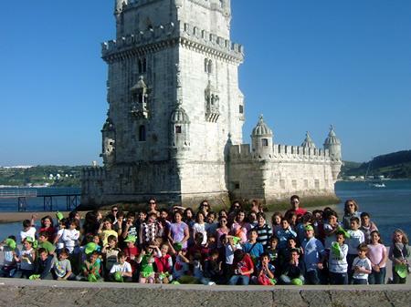 Viagem a Lisboa das Turmas do Centro Escolar