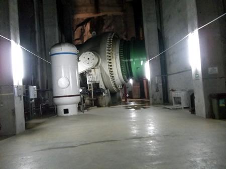 Visita de estudo à Central hidroelétrica do Alto Lindoso