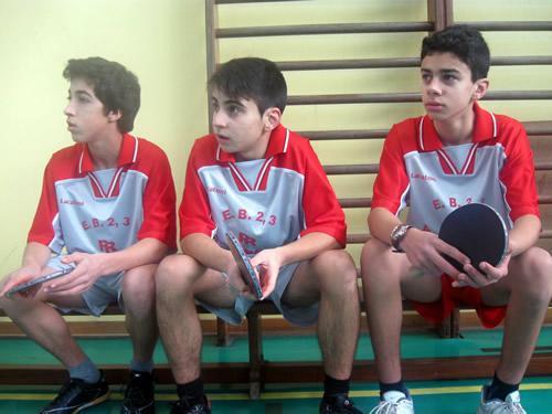 Ténis de Mesa - Desporto Escolar - Individuais